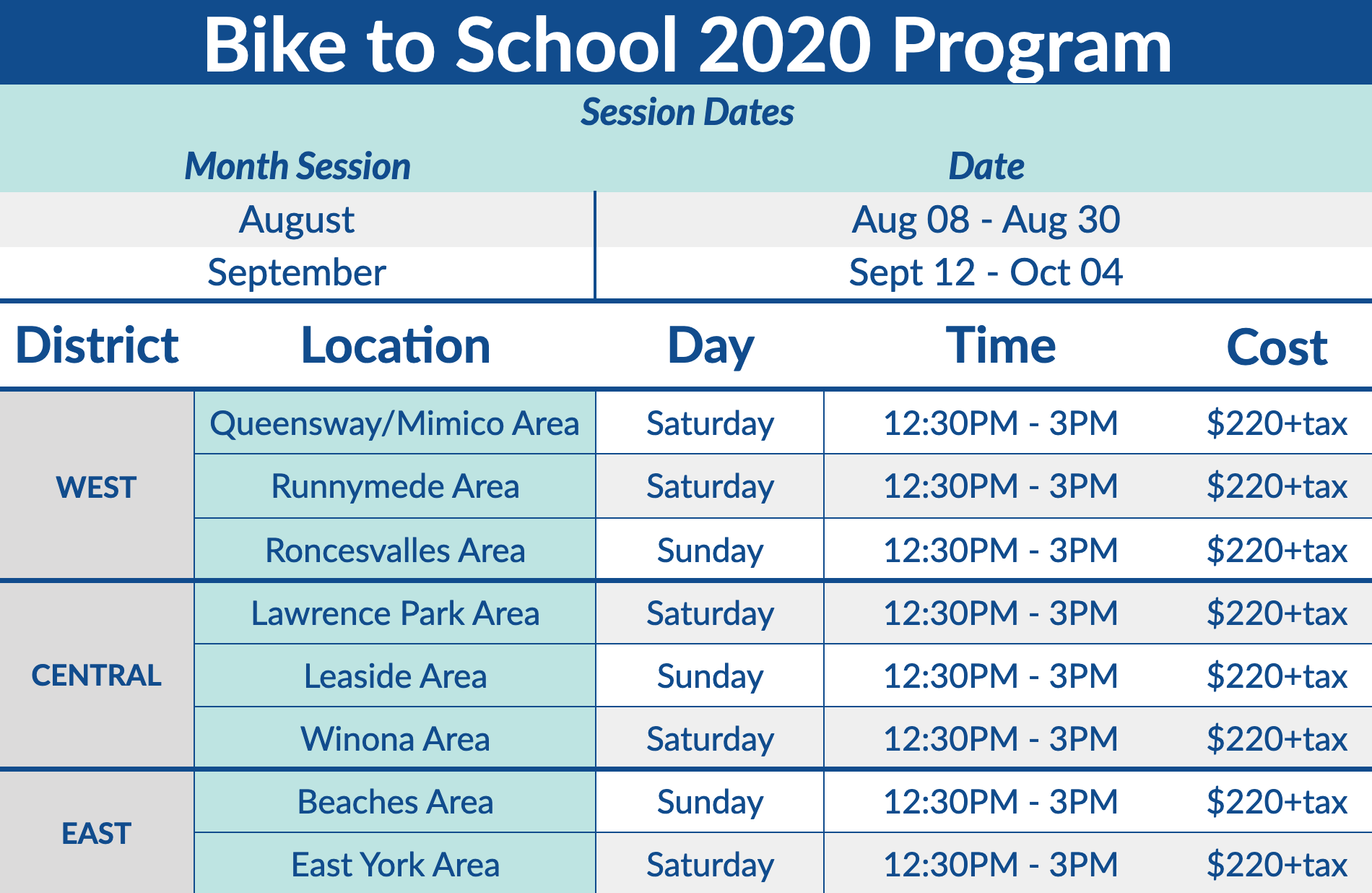 Learn how to Bike to School in Toronto 2020