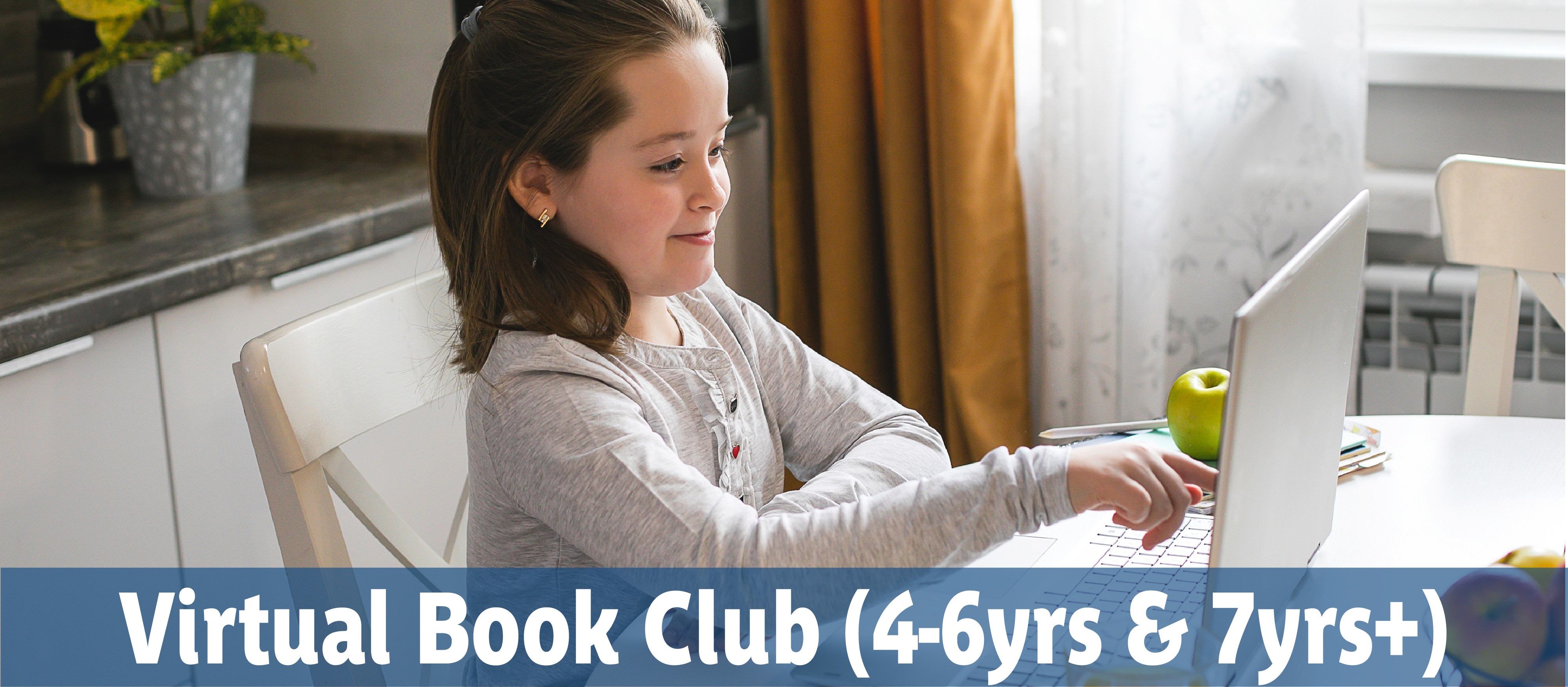 Virtual Book Club, Reading & Writing Program for children at home